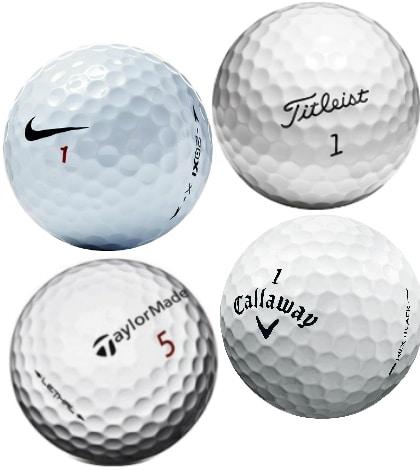 pelotas de golf marcas