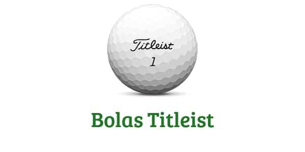 pelotas de golf titleist