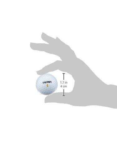 Wilson Ultra LUE Bola de Golf, Unisex, Blanco, 24