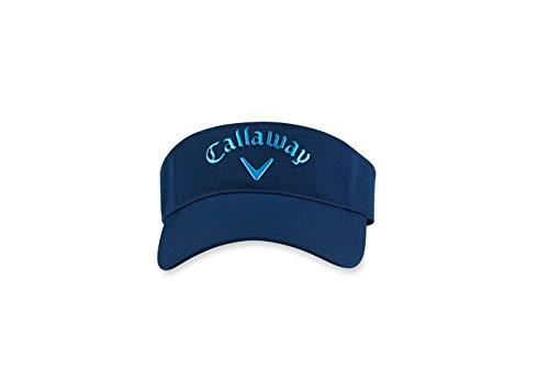 Callaway Liquid Metal Visor Visera, Azul (Azulo Navy 5219113), One Size (Tamaño del Fabricante:Única) para Hombre