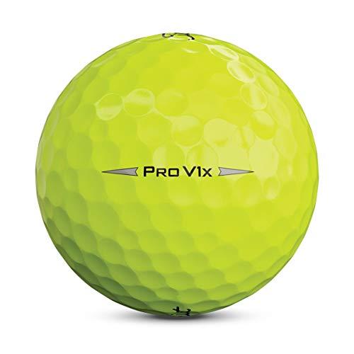 Titleist Pro V1X Bola de Golf, Hombres, Amarillo, Talla Única