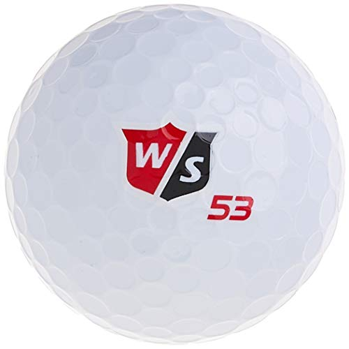 Wilson Staff Fifty Elite Golf Balls (One Dozen)