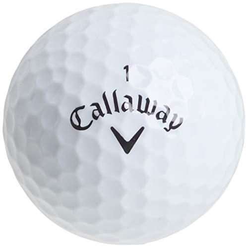 Pelotas de Golf de la marca Callaway, hombre, blanco, 2 docenas