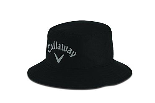 Callaway Aqua Dry Bucket Sombrero de Vestir, Hombre, Negro (Negro 5215156), Medium (Tamaño del Fabricante:L/XL)