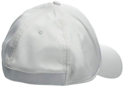 Under Armour Men's Golf Headline 2.0 Cap - Gorra, Hombre, Blanco (White/Academy 101) M/L