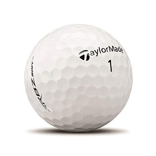 TaylorMade RBZ Soft Docena de Pelotas de Golf (2019), Unisex Adulto, Blanco, One Dozen