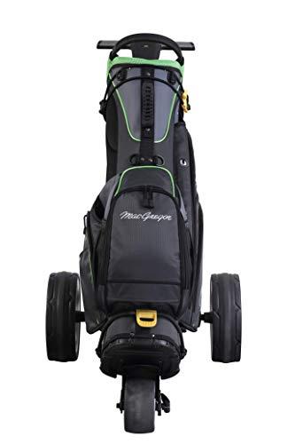 MacGregor Golf MACBAG146 Mactec Hybrid 14 Golf Club Stand Carry Trolley Bag, Negro