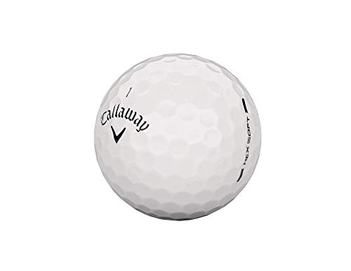 Callaway 642305653 Hex Pelota de Golf 24 Piezas, Blanco