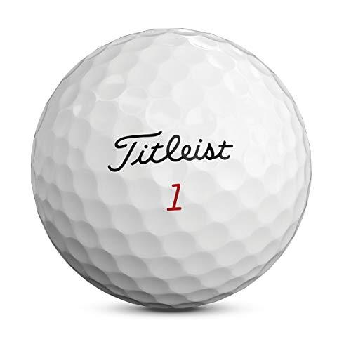 Titleist Pro V1X Bola de Golf, Hombres, Blanco, Talla Única