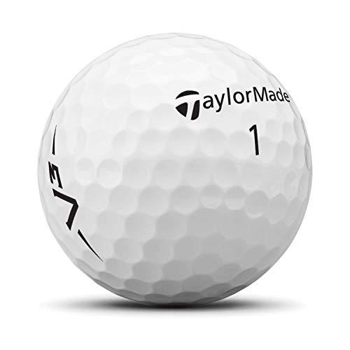 TaylorMade TM19 V3 Speed dz - Pelota de Golf Unisex (Talla única), Color Blanco