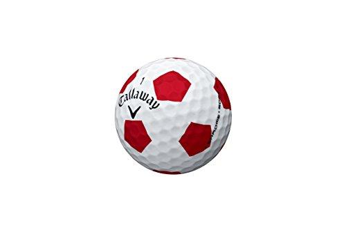 Callaway Golf 2016 - Bolas de Golf (Cromo), diseño de Truvis, Color Blanco