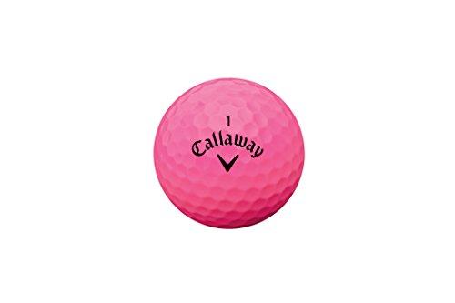 Callaway Supersoft - Pack de 12 Bolas de Golf, Color Rosa