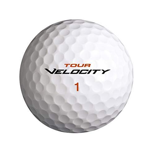 Wilson Golf Tour Velocity para Distance, 15 Bolas, Blanco, Compresión 70, Ionómero, Para Máxima Distancia, WGWR72000