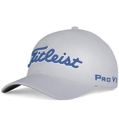 TITLEIST Tour Elite Trend - Gorra, color gris y azul