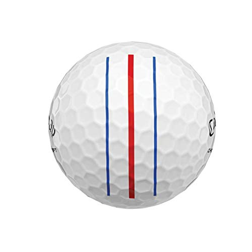 Callaway Chrome Soft 2020 Triple Track Technology - Manga de 3 bolas