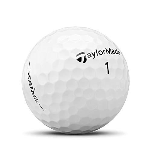 TaylorMade Rocketballz - Pelotas de golf, color blanco (tres docenas)