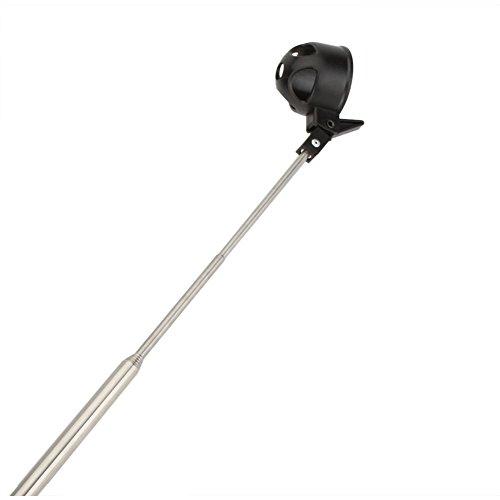 Recuperador de pelotas de golf de 2 m automáticamente portátil telescópico para recoger bolas