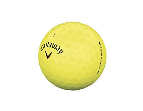 Callaway 641945612 Bola de Golf, Hombres, Amarillo, Talla Única