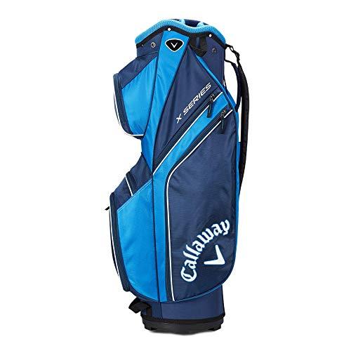 Callaway X Series Bolsa para Palos de Golf, Hombre, Multicolor (Navy/Royal Blue/White), Talla Única