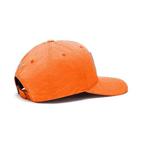PUMA P 110 Cap Gorra, Hombre, Vibrant Orange, OSFA