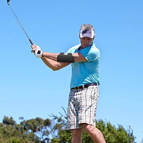 Entrenador de Swing de Golf, 1 Piezas Entrenador de Codo para Golf, Swing de Golf Corrector de Codo, Entrenador de Swing de Codo de Golf, Accesorio Recto para Golf, para Principiantes