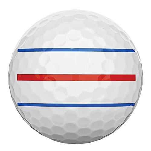 Callaway 642725612 ERC Soft Triple Pelota de Golf 12 Piezas, Blanco, única, Bianco