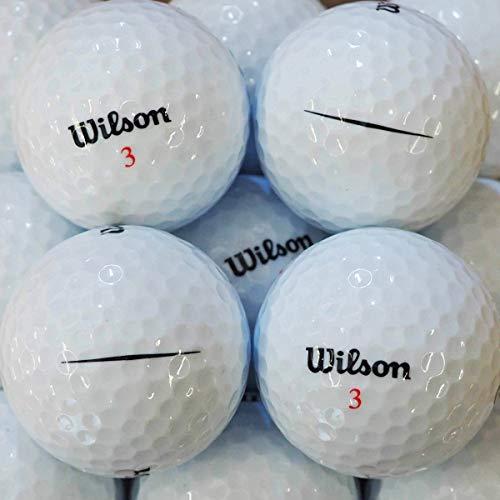 LBC-Sports Wilson Com Ultra Similar - Pelotas de Golf (24 Unidades), Color Blanco