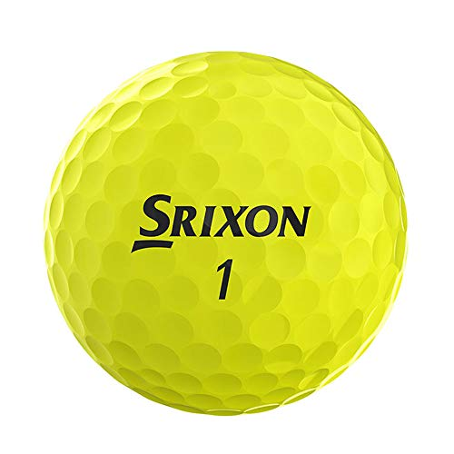 Srixon AD333 Bolas de Golf (2019 Version), Amarillo (Tour Yellow), Caja 12 Bolas