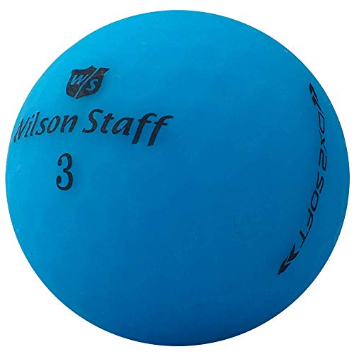 lbc-sports 24 Wilson Staff Dx2 / Duo Soft Optix - Pelotas de Golf AAAAA, Color Azul, Acabado Mate, Pelotas de Golf usadas