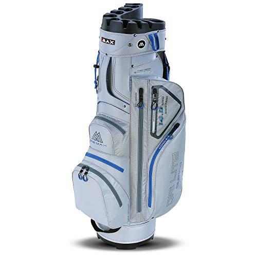 Big Max Dri Lite Silencio Cartbag - Bolsa de Golf Impermeable, Azul