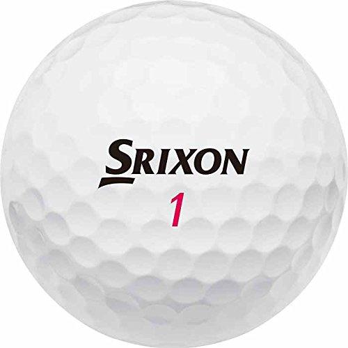 Srixon Softfeel Lady - Pack de 12 Bolas 2 Capas de Golf, Mujer, Blanco, Talla Única
