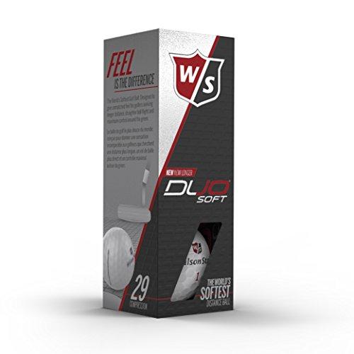 Wilson White Duo Soft - Talla única para Hombre