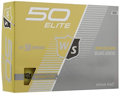 Wilson Staff Fifty Elite Golf Balls (One Dozen)