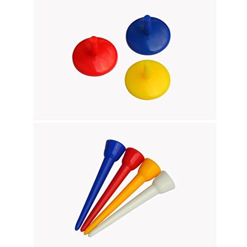 VORCOOL 3 unids Kit de Golf Golf Club Limpiador de Cepillo Herramienta de Reparación de Golf Divot Ball Marker Golf tee Pack Accesorios de Golf