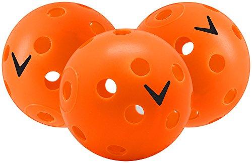 Callaway Perforated Practice Golf Balls Plastic 24 Count Orange