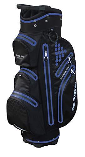Ben Sayers Hydra Pro Waterproof Bolsa de Golf, Unisex Adulto, Negro y Morado, Talla única