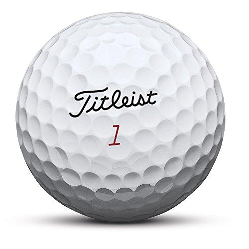 Titleist ProV1x Números Altos Bolas 4 Capas de Golf, Unisex Adulto, Blanco, Talla Única