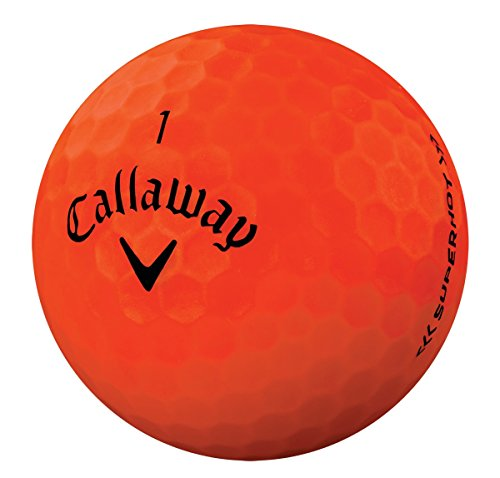 Callaway CG BL Superhot Bold 15 Bolas de Golf, Unisex, Naranja, Talla Única