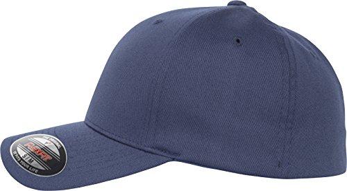 Flexfit Gorra de Golf con Marcador magnético en el Lateral, Unisex Adulto, Gorra, 6277MB, Azul Marino, S-M