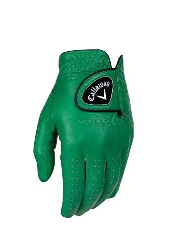 Callaway CG GL Color Guantes de Golf, Hombre, Verde, S