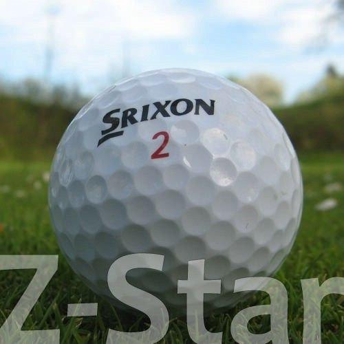 50 SRIXON Z-STAR PELOTAS DE GOLF RECUPERADAS / LAKE BALLS - CALIDAD AAAA / AAA (PEARL / A GRADE)