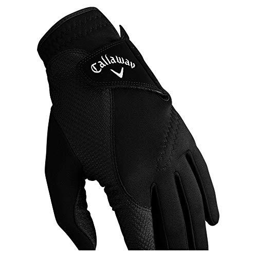 Callaway Thermal Grip Guante de Golf, Hombre, Negro, S
