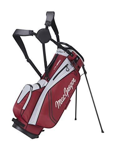 MACGREGOR MACBAG136 Golf Club Stand Bag, Unisex-Adult, Burgundy, One Size