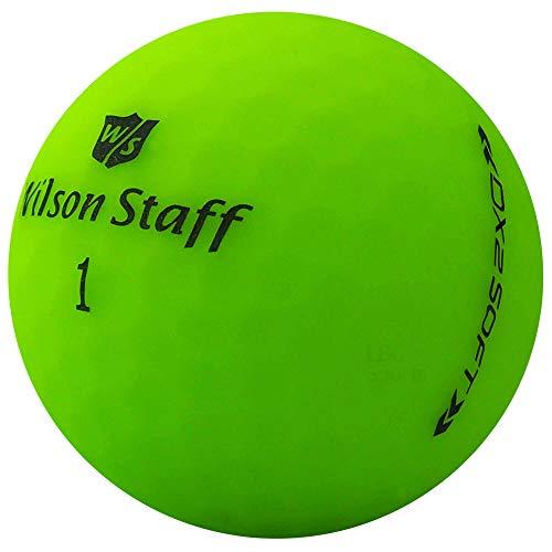lbc-sports 24 Wilson Staff Dx2 / Duo Soft Optix - Pelotas de Golf AAAAA, Color Verde, Acabado Mate, Pelotas de Golf usadas
