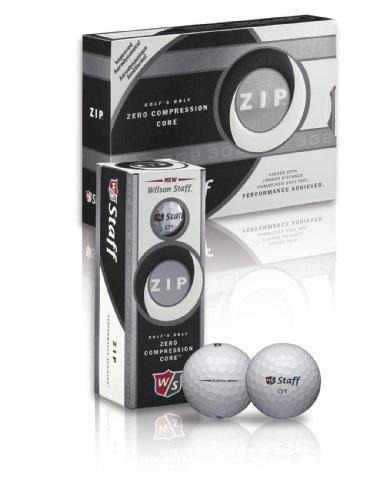 Wilson Staff Zip - Juego de Pelotas de Golf (24 Unidades)