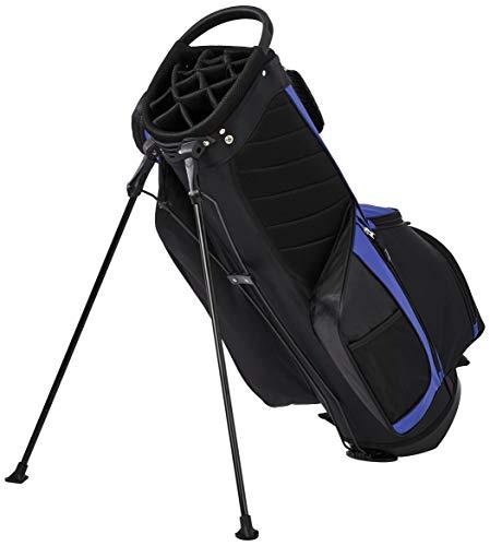 AmazonBasics - Bolsa de golf con caballete, color Azul