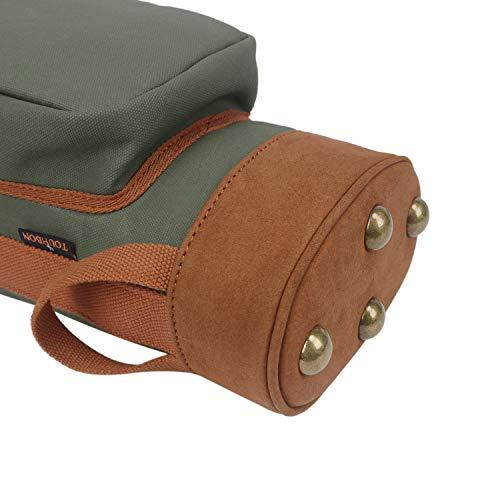 Tourbon - Bolsa de transporte ligera para palos de golf para hombre y mujer, color verde