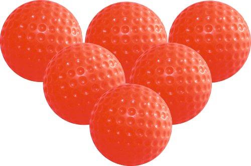 LONGRIDGE Golfbälle Gelee Trainings 6 Stück Pelotas de Goma para práctica, Unisex, Naranja, 6 Pack