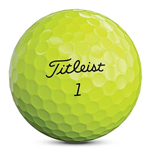 Titleist 2020 AVX YLW Bola de Golf, Hombres, Yellow, Talla Única