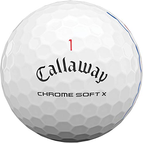 Callaway Chrome Soft X 2020 Triple Track Technology – 3 Ball Sleeve